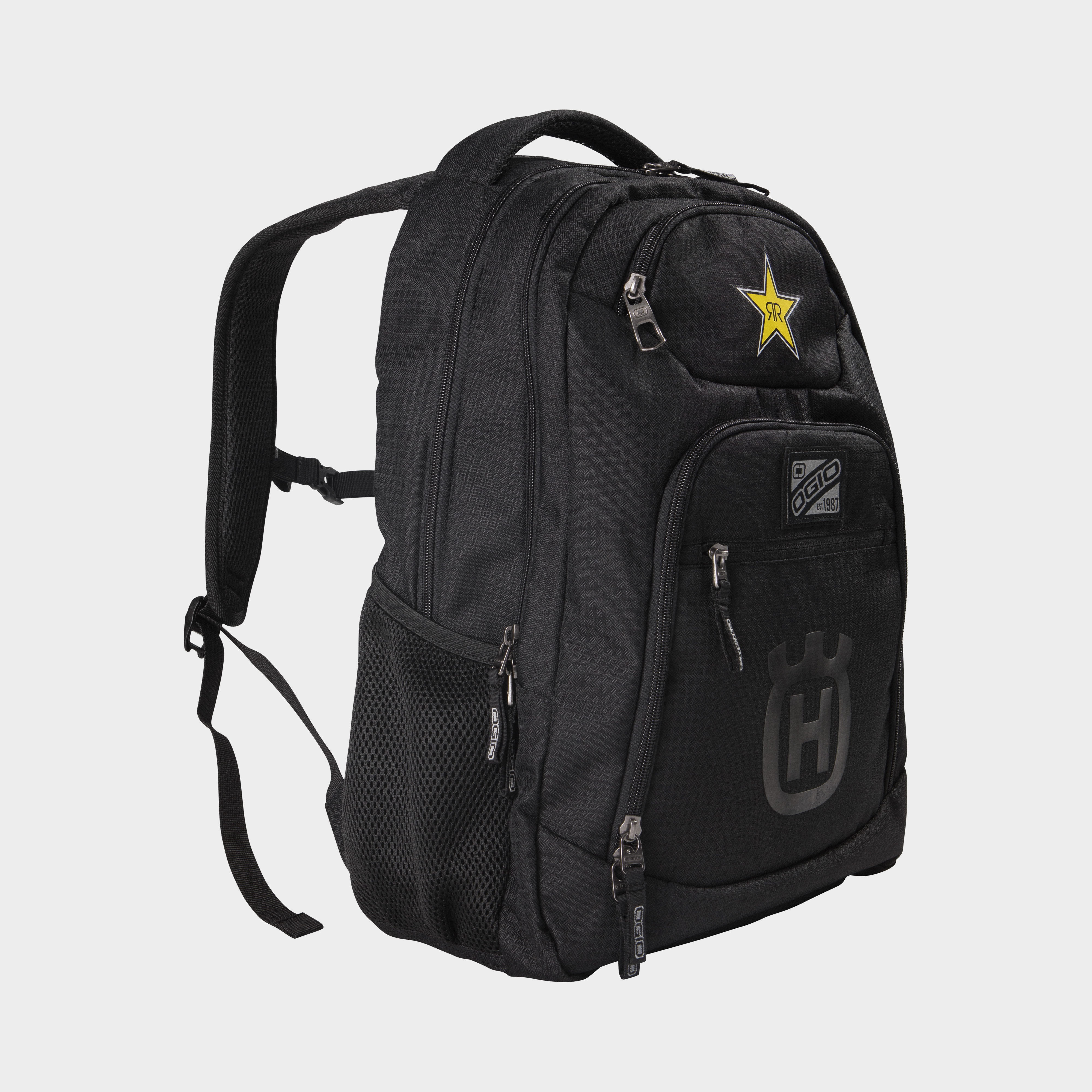 rockstar energy husqvarna factory racing replica collection team backpack
