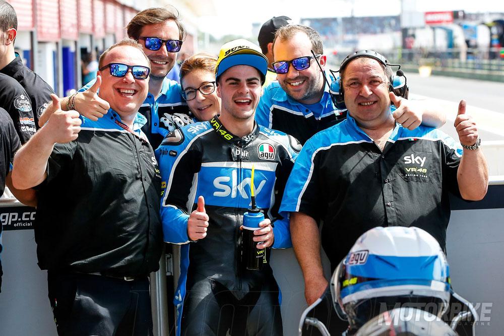 Romano Fenati Suspendido en Moto3