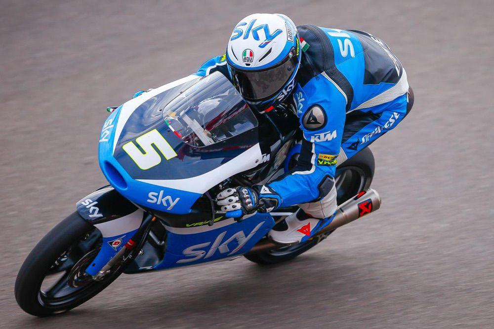 Romano Fenati, victoria en Moto3 en el GP Americas