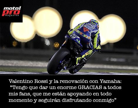 Valentino Rossi y sus fans