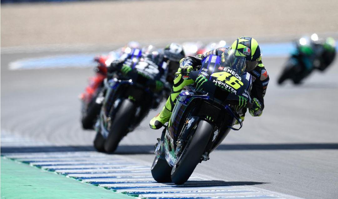 Rossi y Viñales