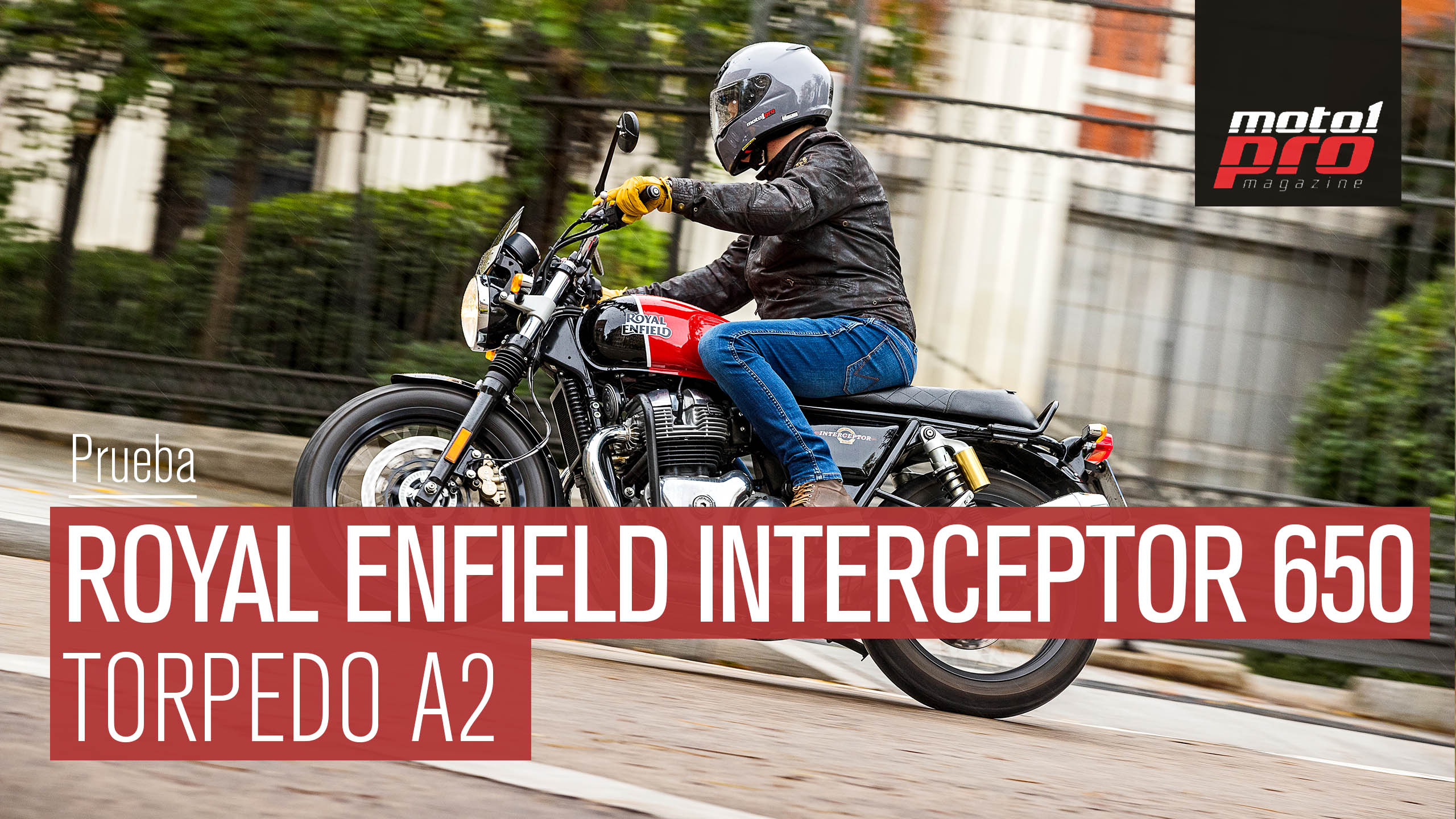 Vídeo | Prueba Royal Enfield Interceptor 650