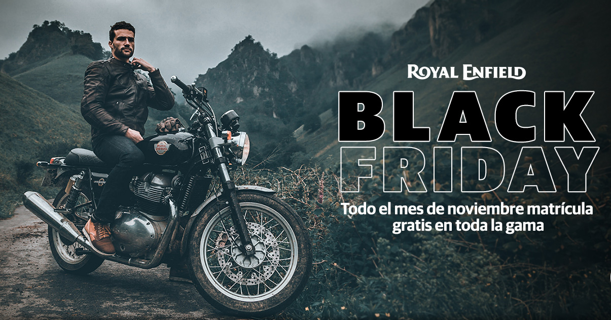 Descubre el BLACK FRIDAY en Royal Enfield
