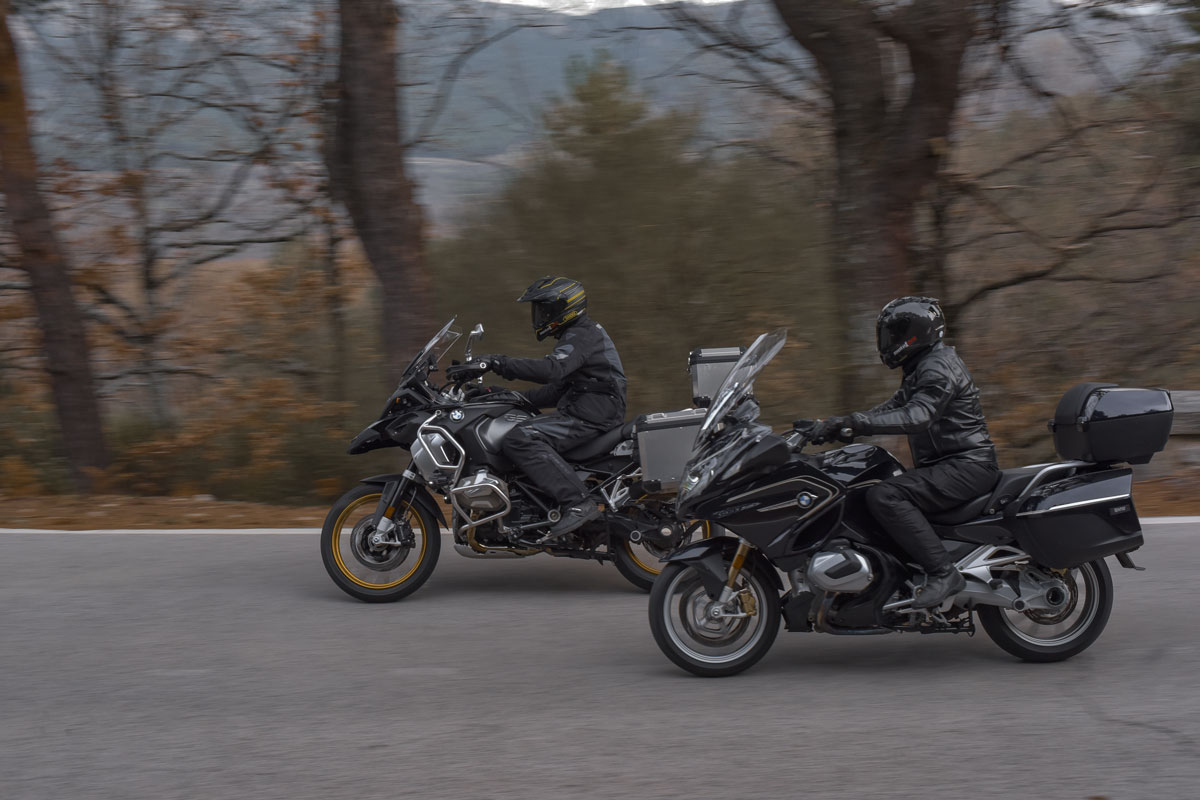 BMW RT vs BMW GS