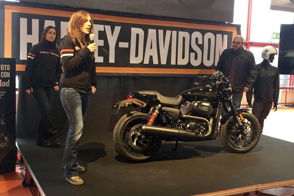 Presentación Harley Davidson en el Salon Moto Madrid