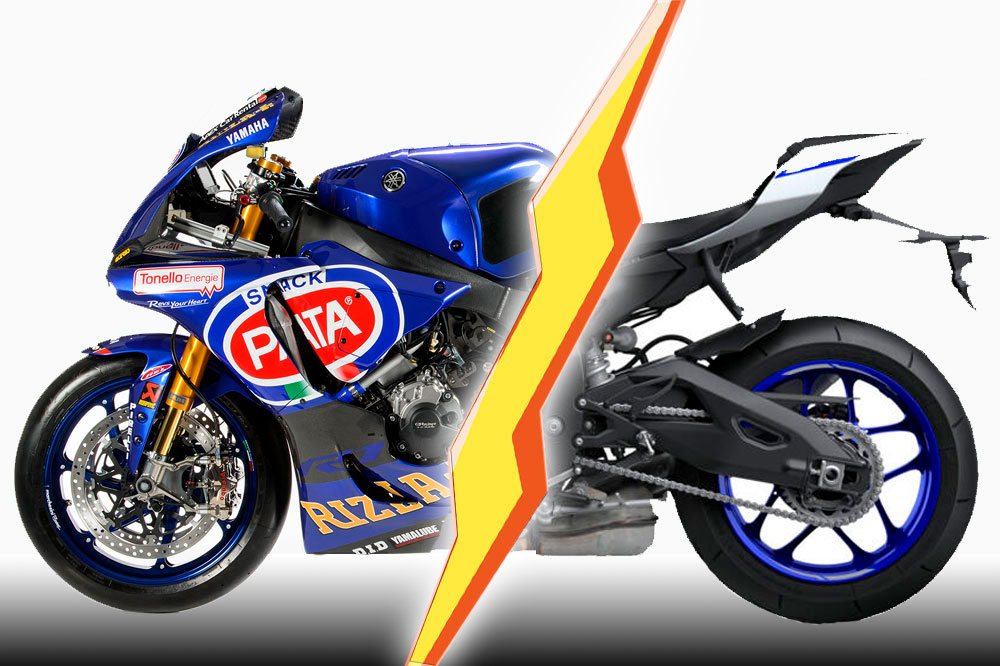 Moto SBK y moto serie