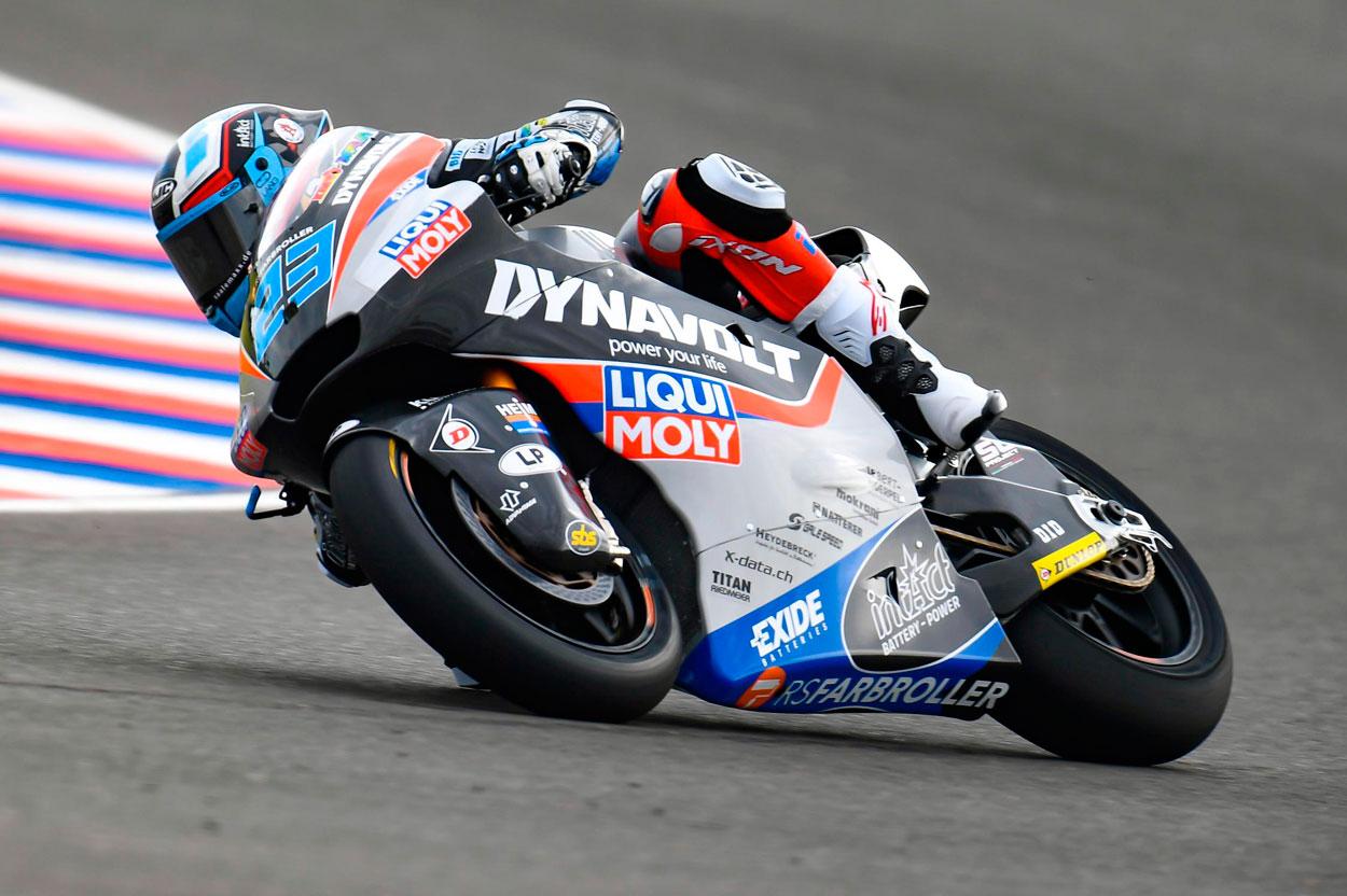 Marcel Schrotter y Thomas Luthi han dominado las sesiones en Moto2