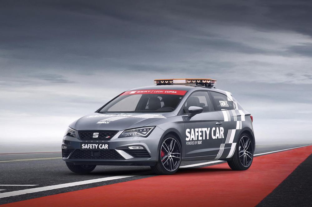 Seat Cupra, patrocinador del Mundial SBK