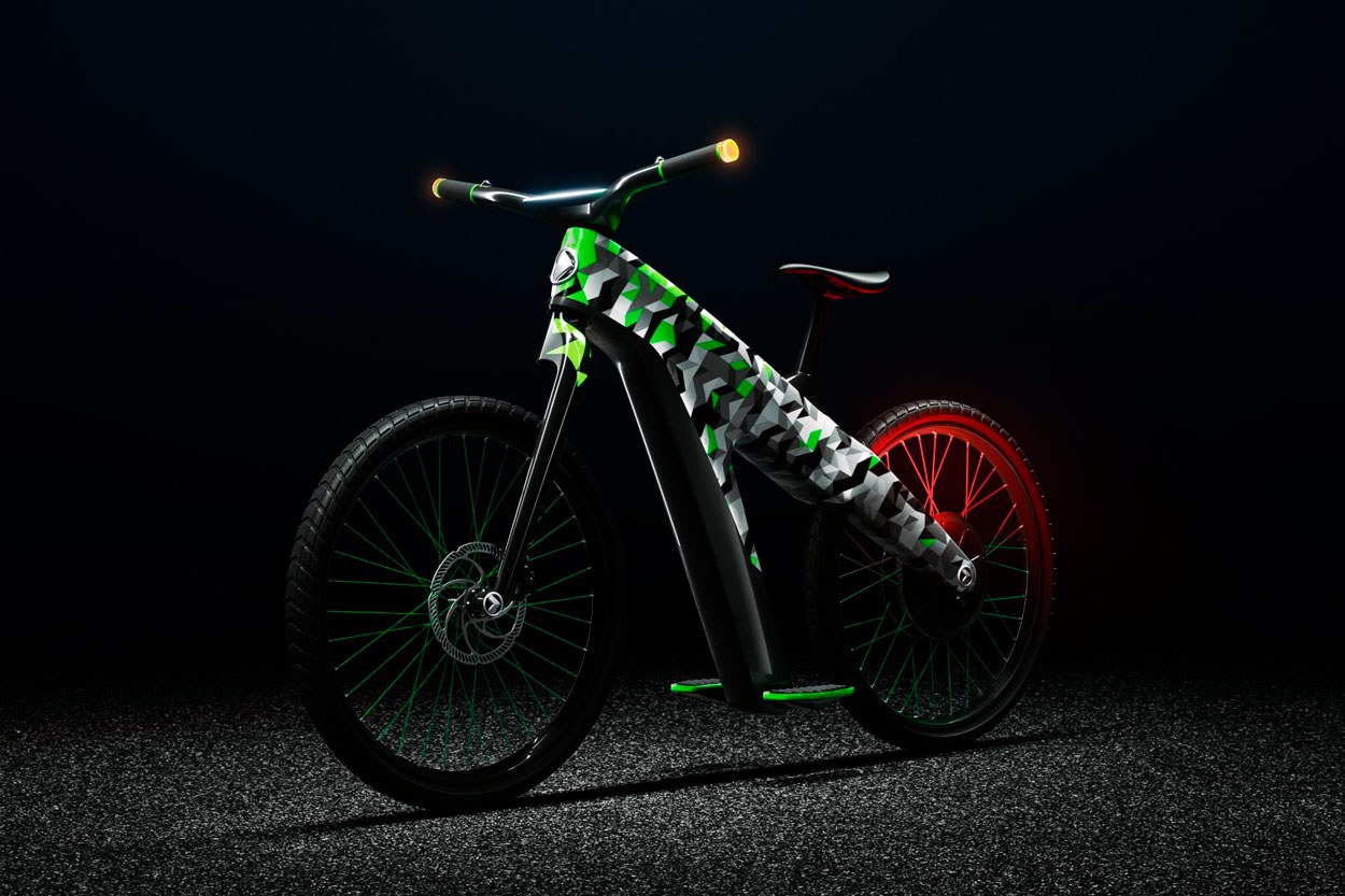 Skoda Klement, ciclomotor electrico