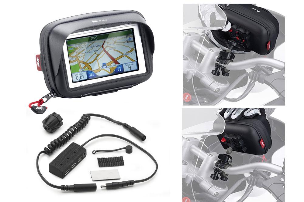 Soporte para smartphone en moto de GIVI