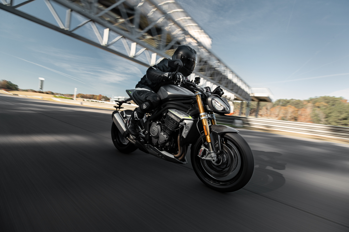 Nueva Triumph Speed Triple 1200 RS: Revolución