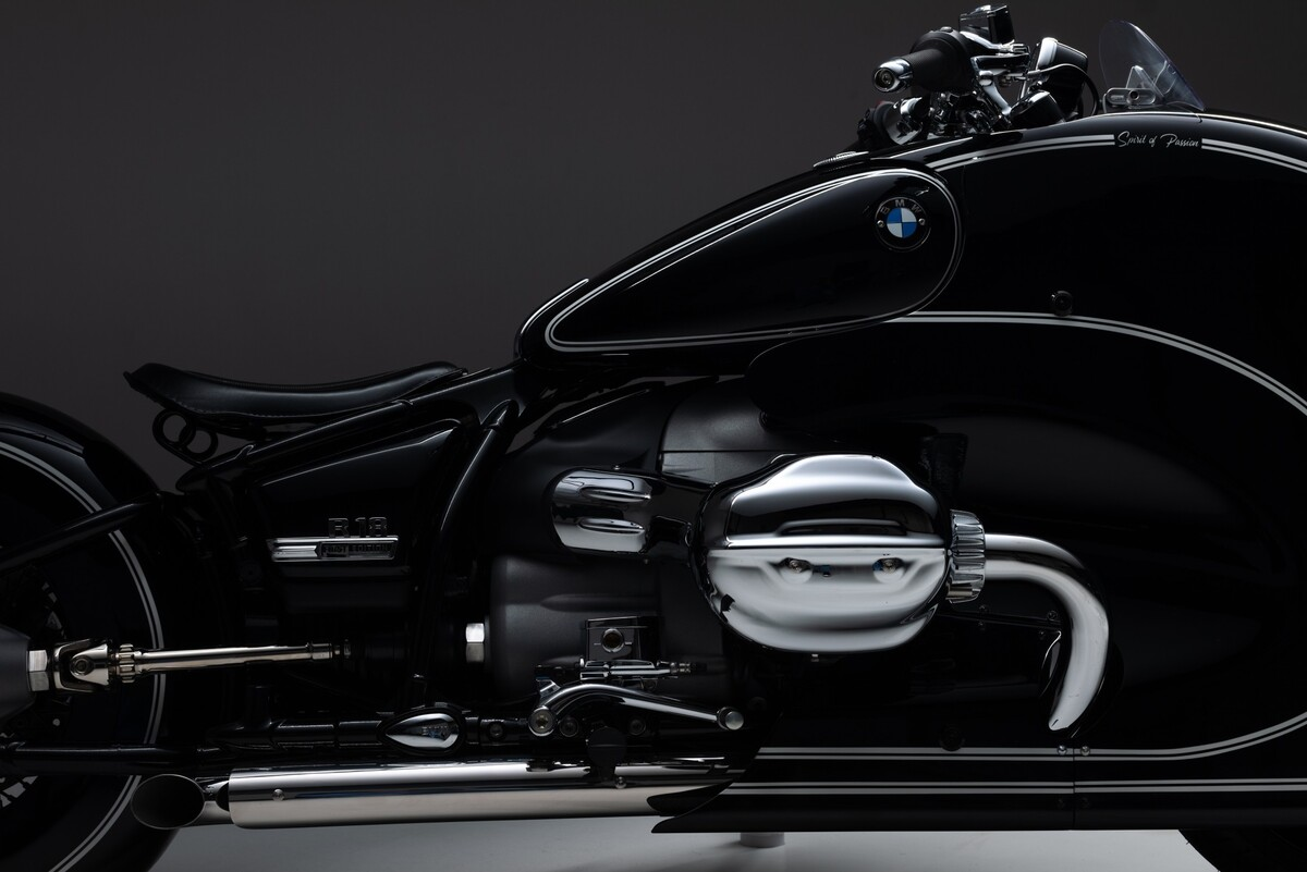 Spirit of Passion, nueva e impactante BMW R 18 Custom Bike