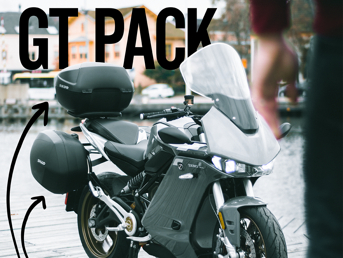 SR/S GT: el nuevo pack de Zero para los más ruteros