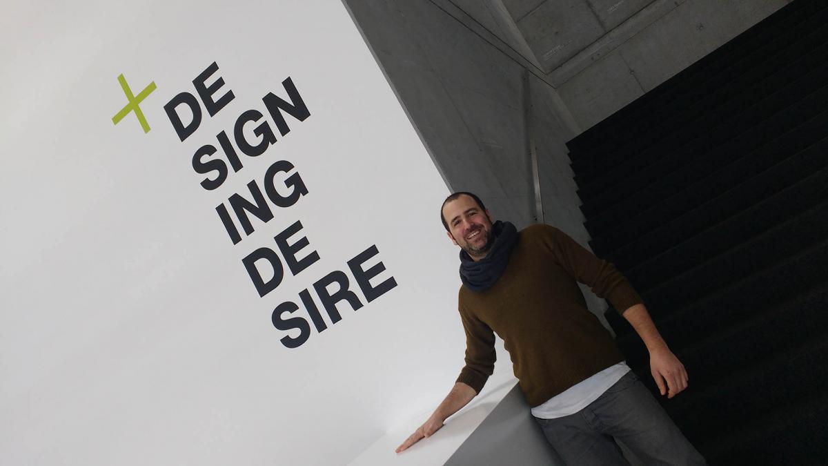 Carlos Ramos es diseñador en KISKA