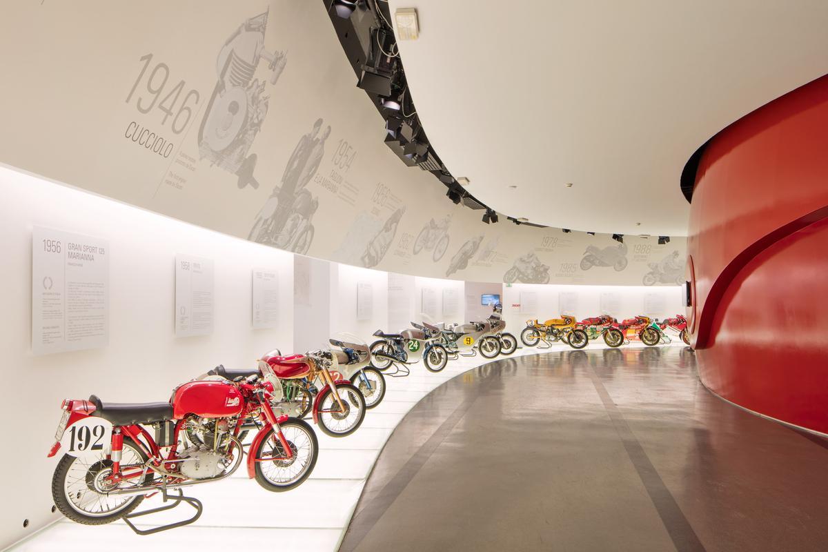 El Museo Ducati vuelve a abrir sus puertas