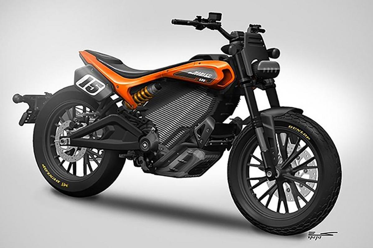Harley Davidson EDT 600 R Eléctrica