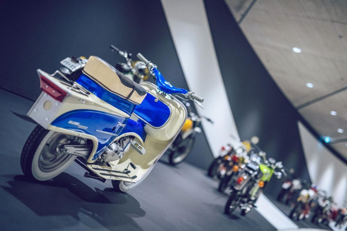 KTM Motohall, exposición permamente en Mattinghofen Austria