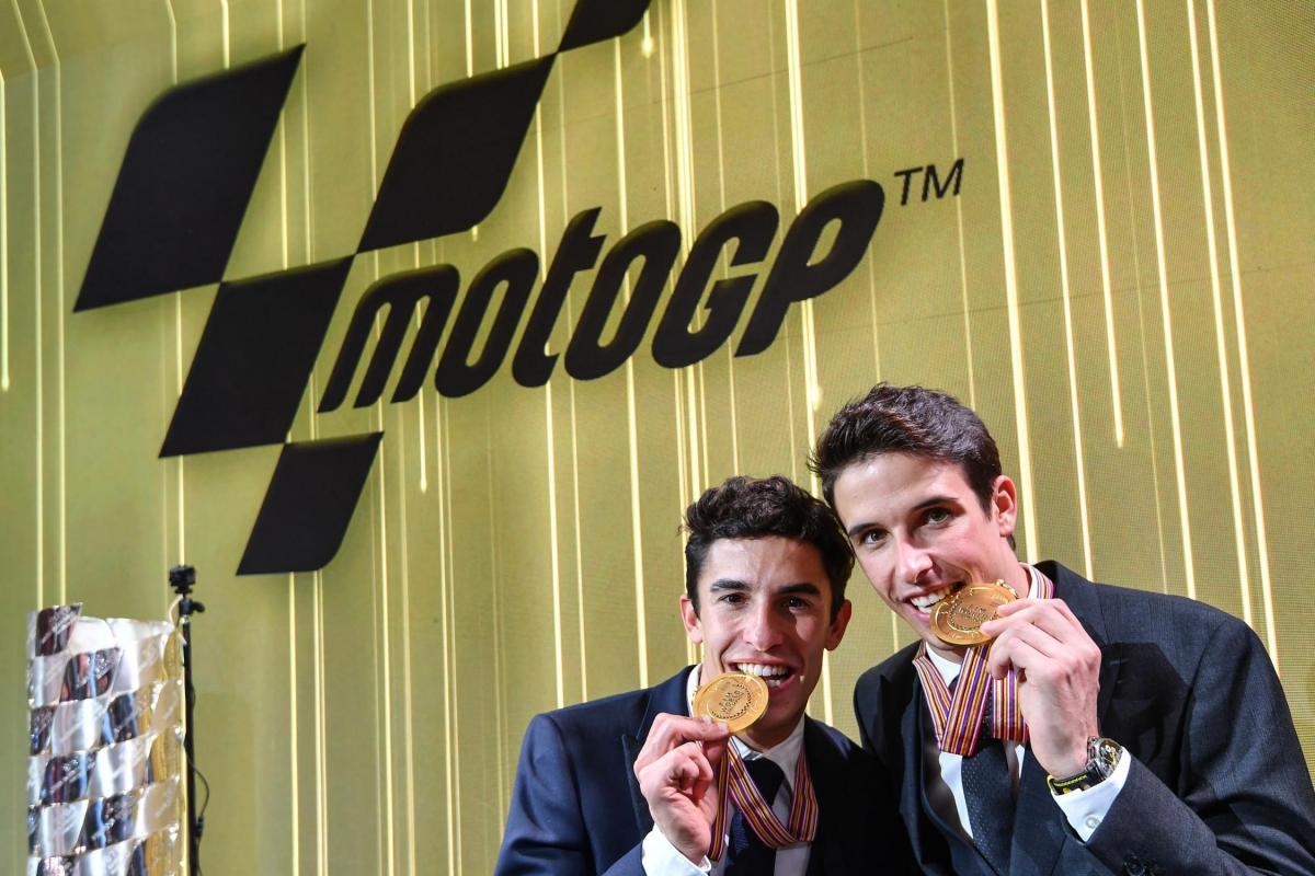 Alex y Marc Marquez