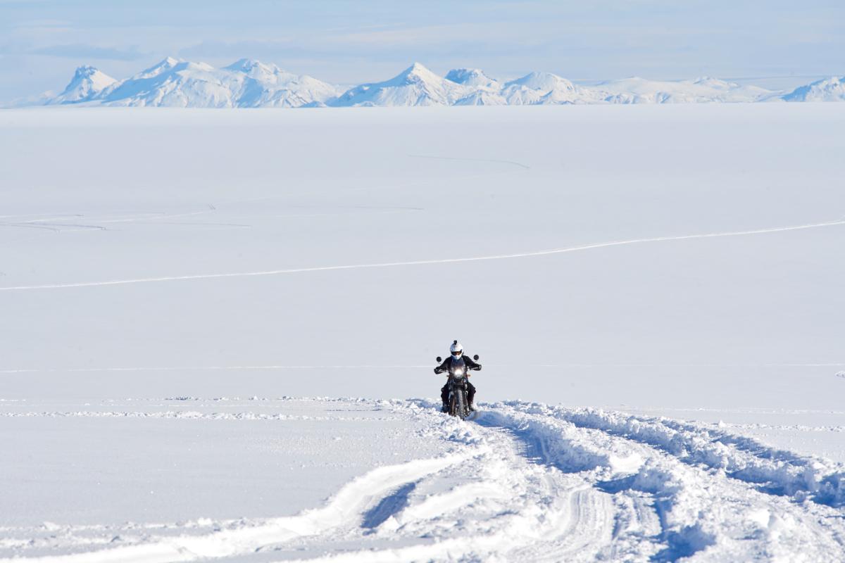 Llegar al Polo Sur en moto, el nuevo reto de Royal Enfield