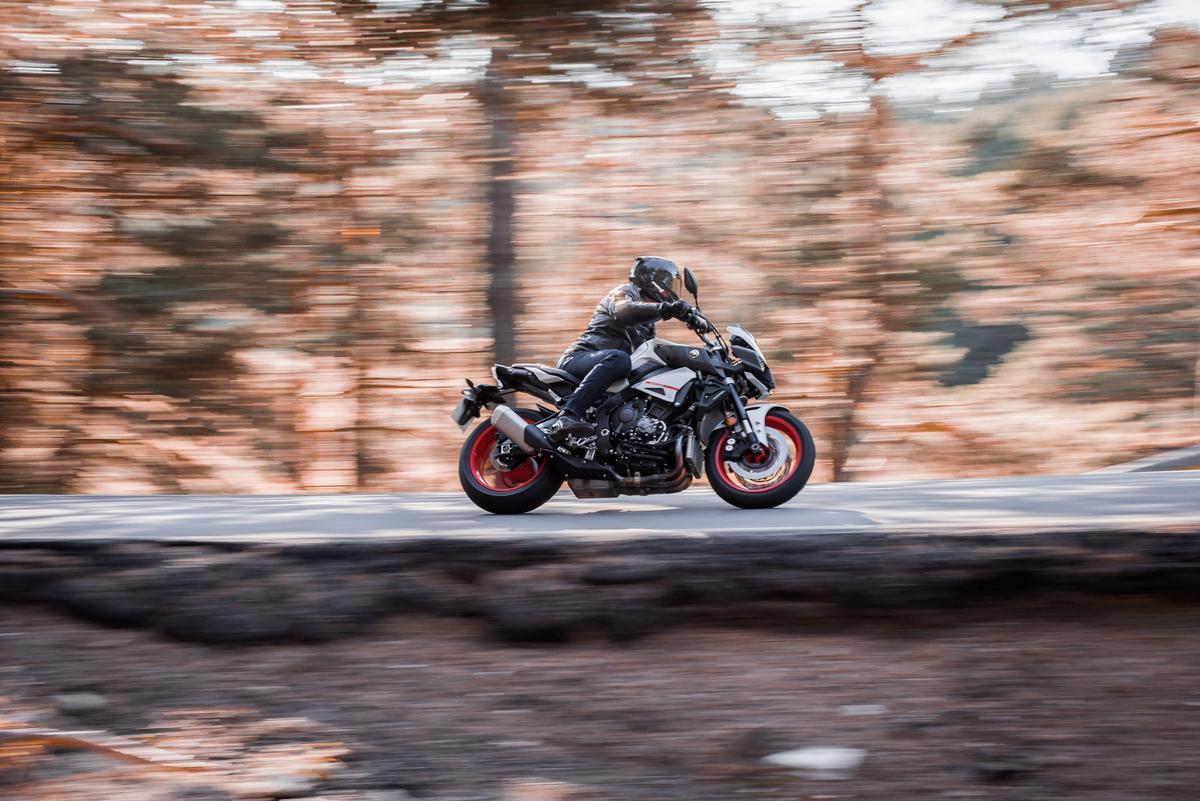 Yamaha renueva la MT-10 SP para 2022 con más potencia