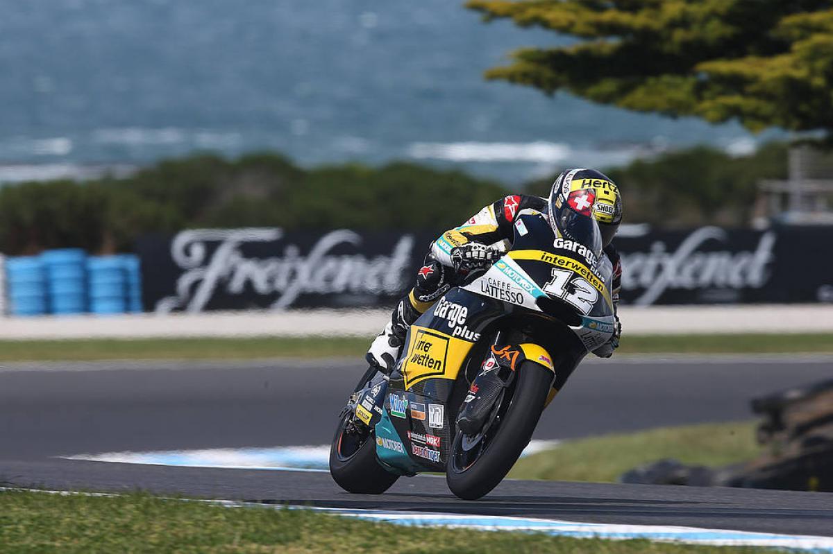 Victoria de Thomas Luthi en el GP de Austalia Moto2