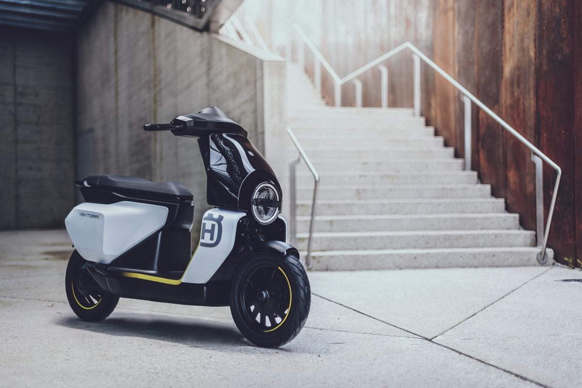 Husqvarna presenta un nuevo scooter eléctrico perfecto para la ciudad
