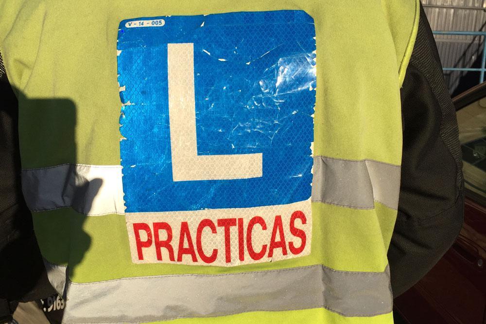 Consejos para el examen práctico de moto