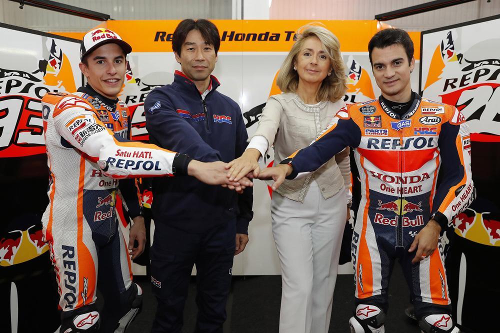 Repsol y Honda HRC, juntos en MotoGP hasta 2018