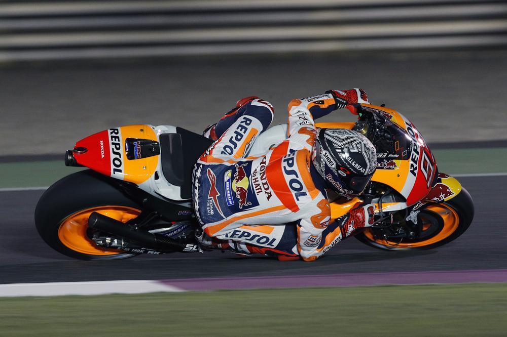 Marc Márquez entrenamientos Qatar MotoGP