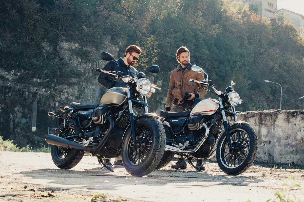 moto guzzi v9 bobber y moto guzzi v9 roamer eagle days