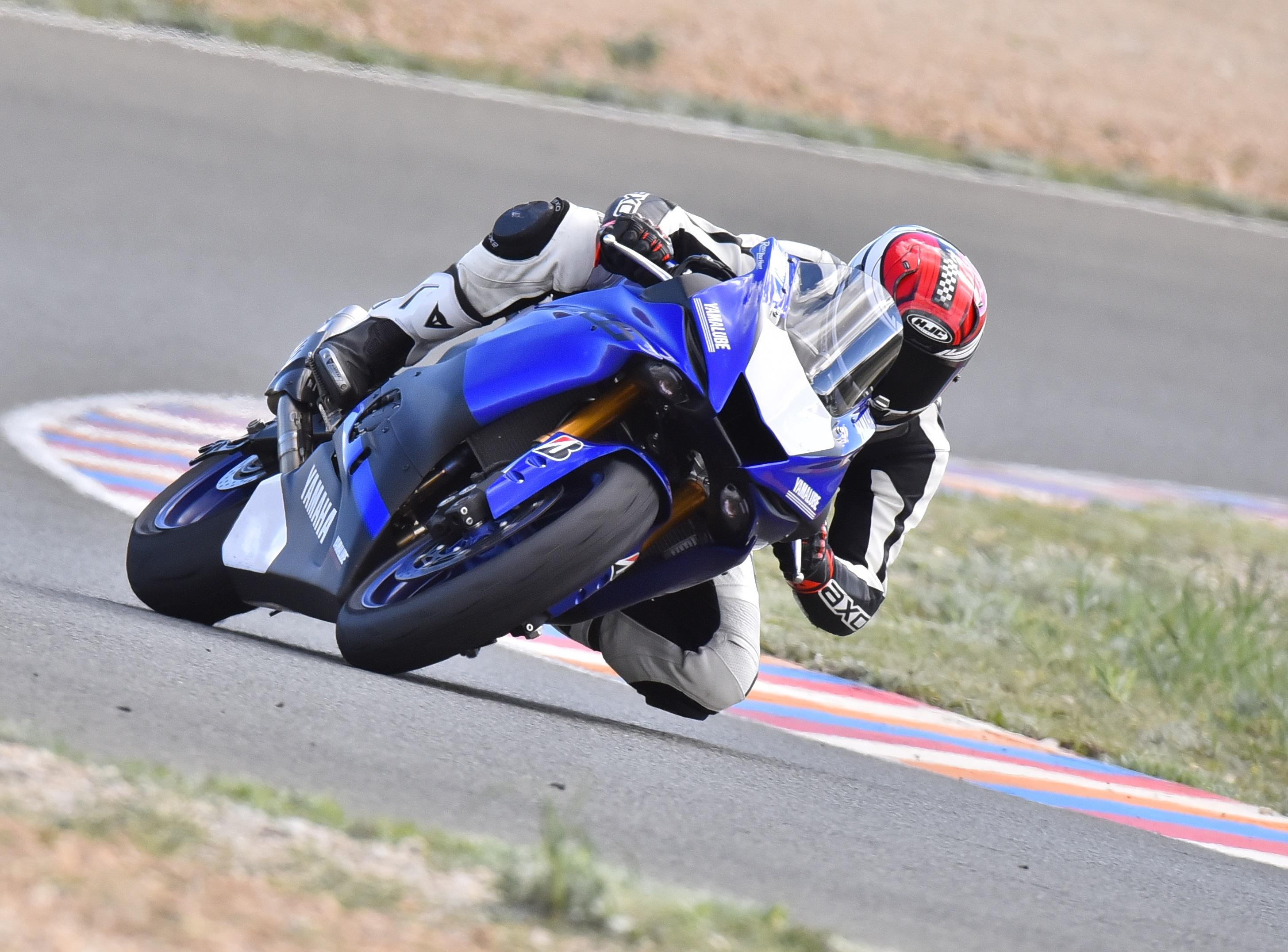 Yamaha YZF R6 2017 Prueba