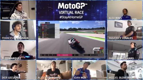 Carrera virtual motogp