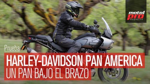 VÍDEO | Prueba Harley-Davidson Pan America 1250