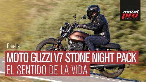 Vídeo   Prueba Moto Guzzi V7 Stone III Night Pack