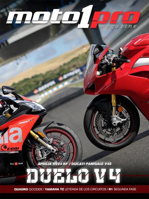Portada del nº92 de la revista digital Moto1Pro