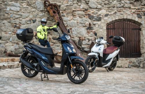 Prueba - SYM Symphony 125 y SYM Fiddle 125: scooter sin carnet