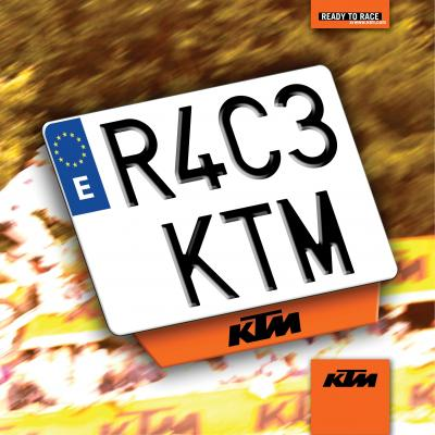 Matrícula KTM