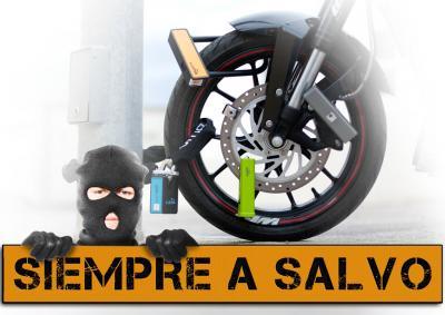 Antirrobos de moto