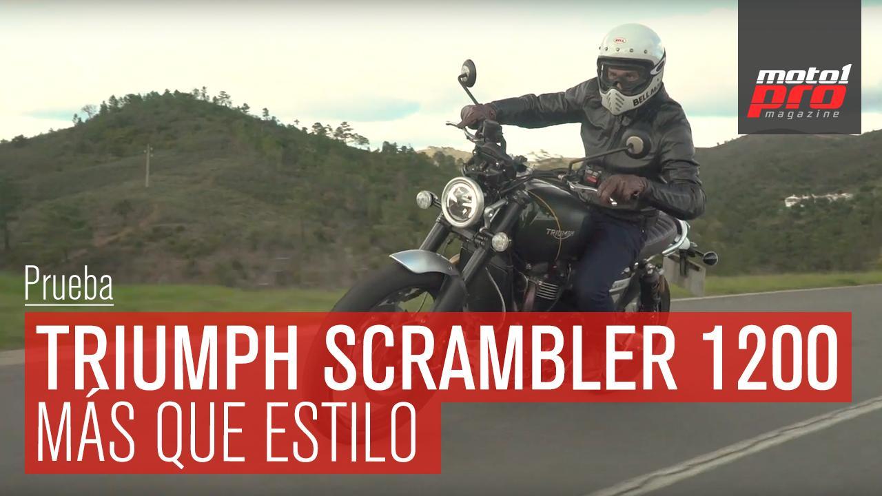 Video Triumph Scrambler 1200