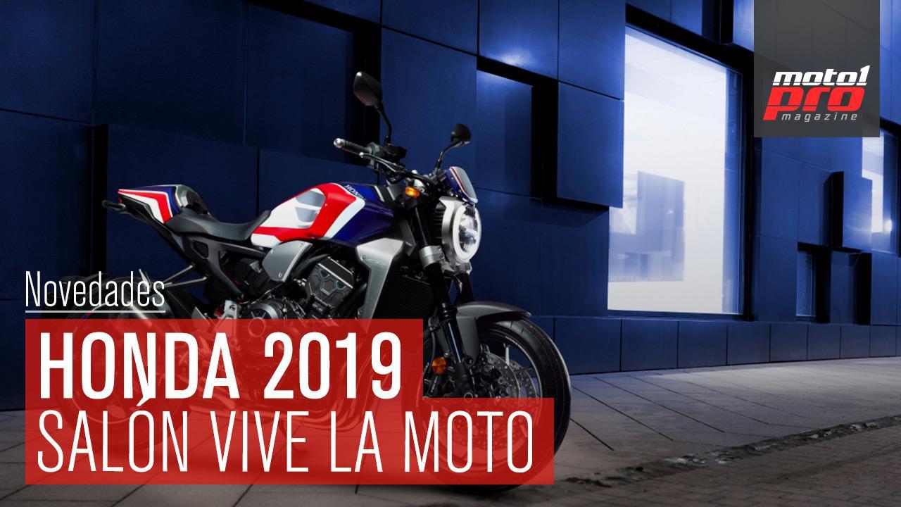 Vídeo | Novedades Honda en el salón Vive la Moto de Barcelona 2019