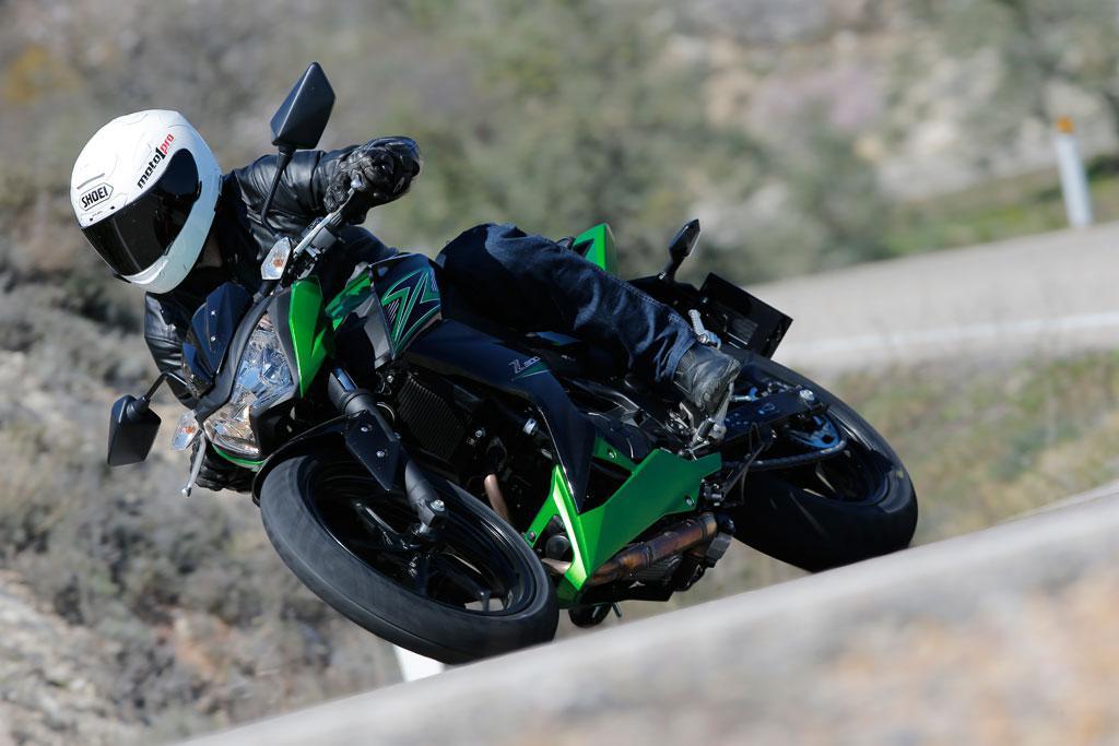 Kawasaki Z 300: Fuente de diversión