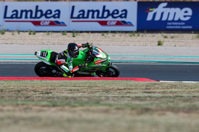 Lluvia campeones en el Campeonato de España de Superbike en Navarra