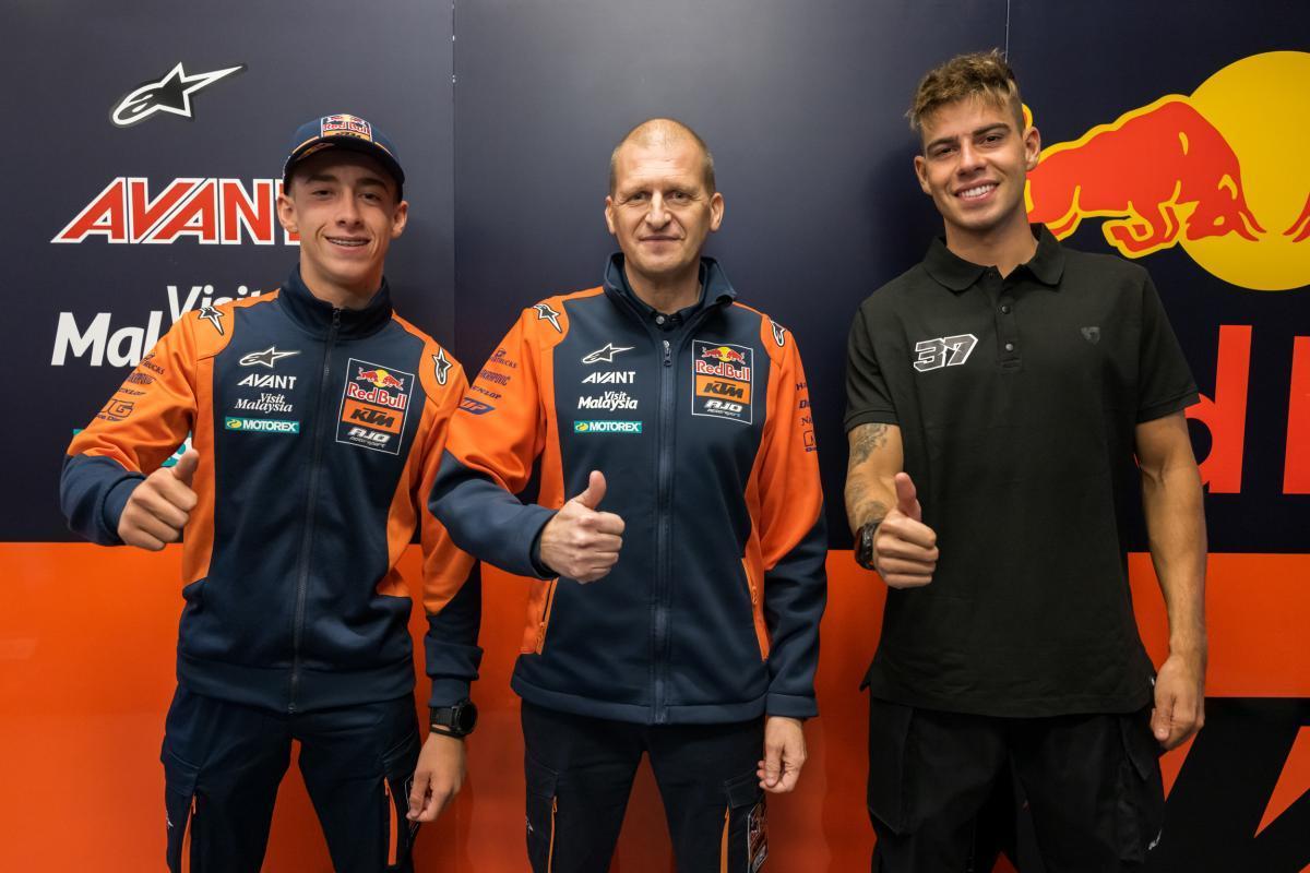 Confirmado: Pedro Acosta y Augusto Fernández en Moto2 con KTM en 2022