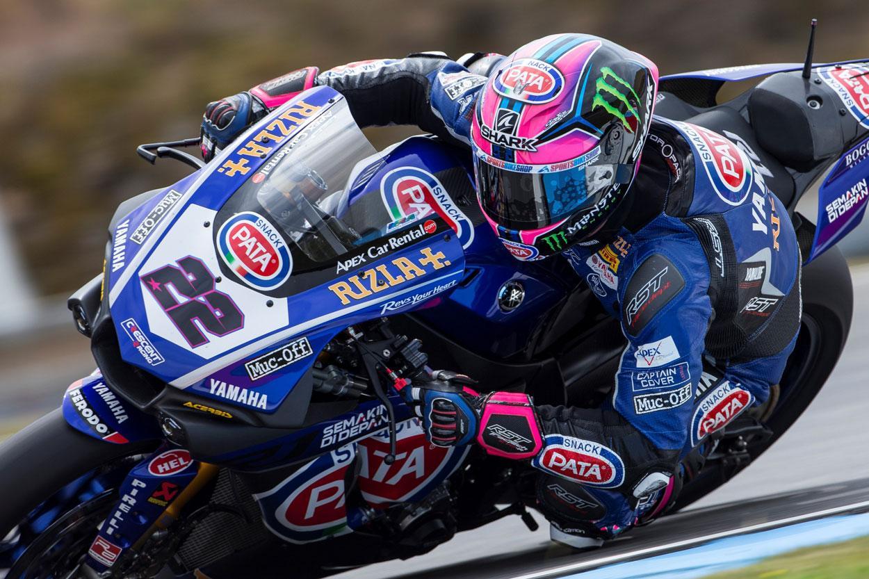 Alex Lowes, victoria con Yamaha en el Mundial SBK