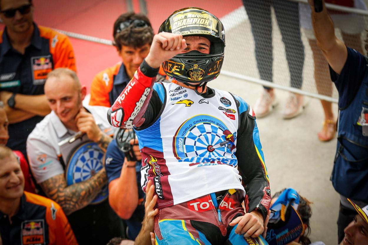 Alex Márquez ya es Campeón del Mundo de Moto2