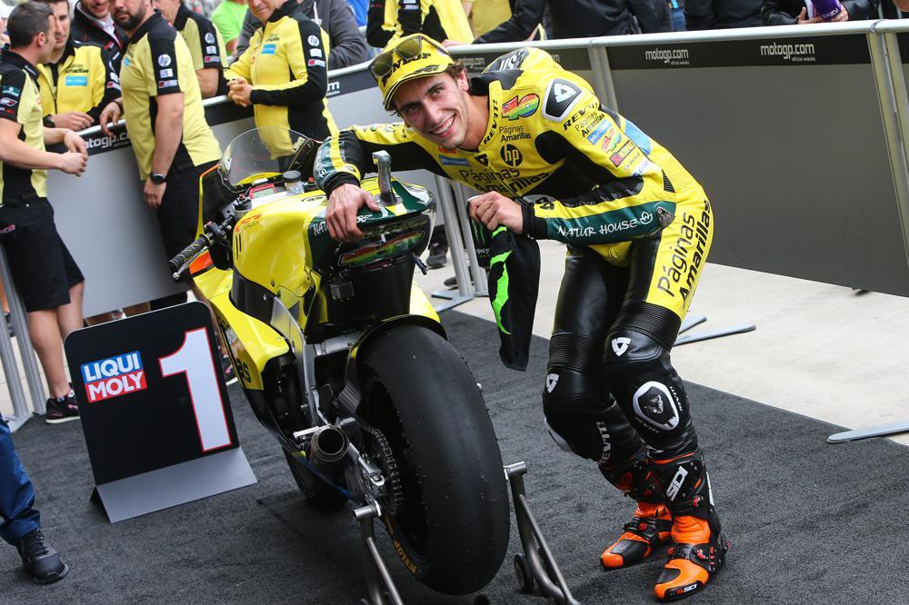 Alex Rins, victoria en Moto2