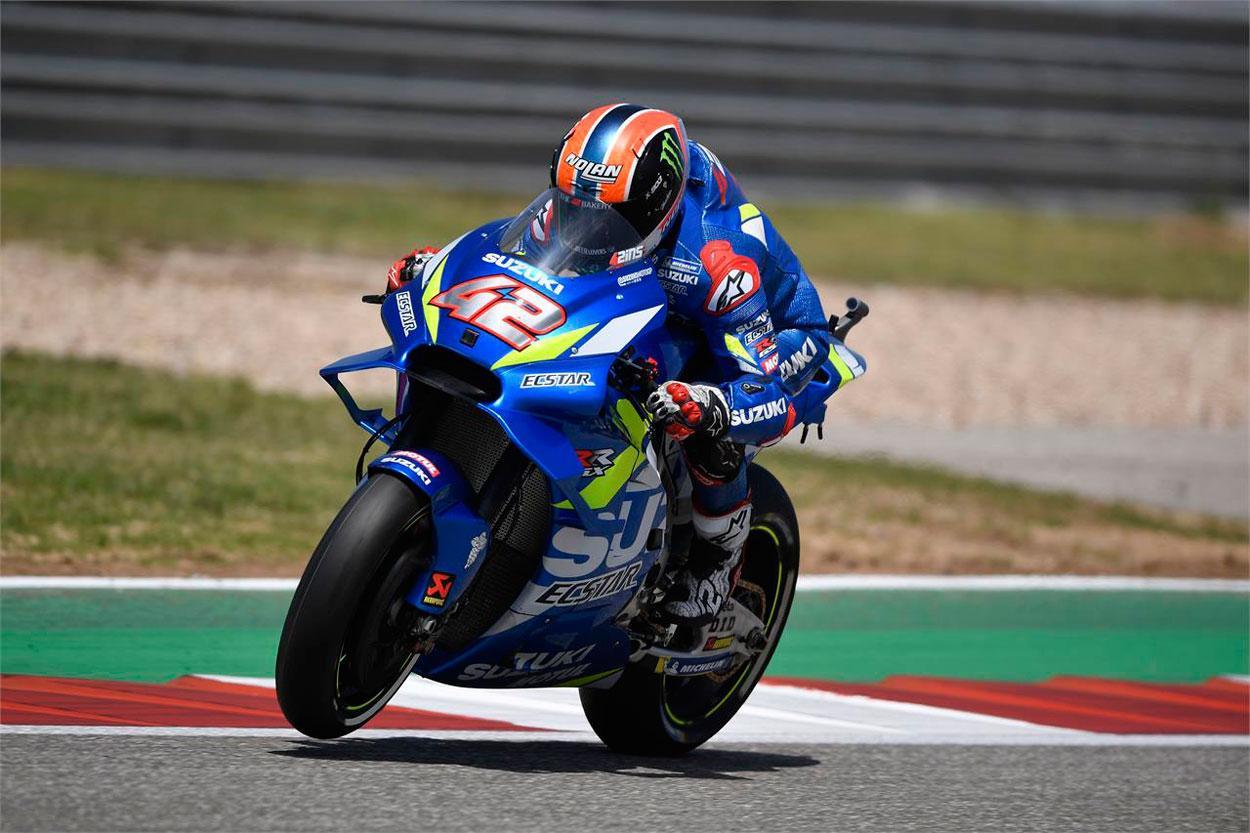 Victoria de Alex Rins en MotoGP en el Gran Premio Americas 2019