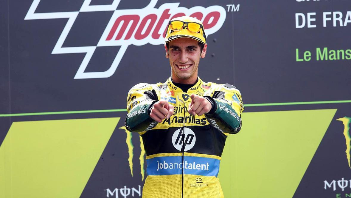 Álex Rins correrá en MotoGP con Suzuki