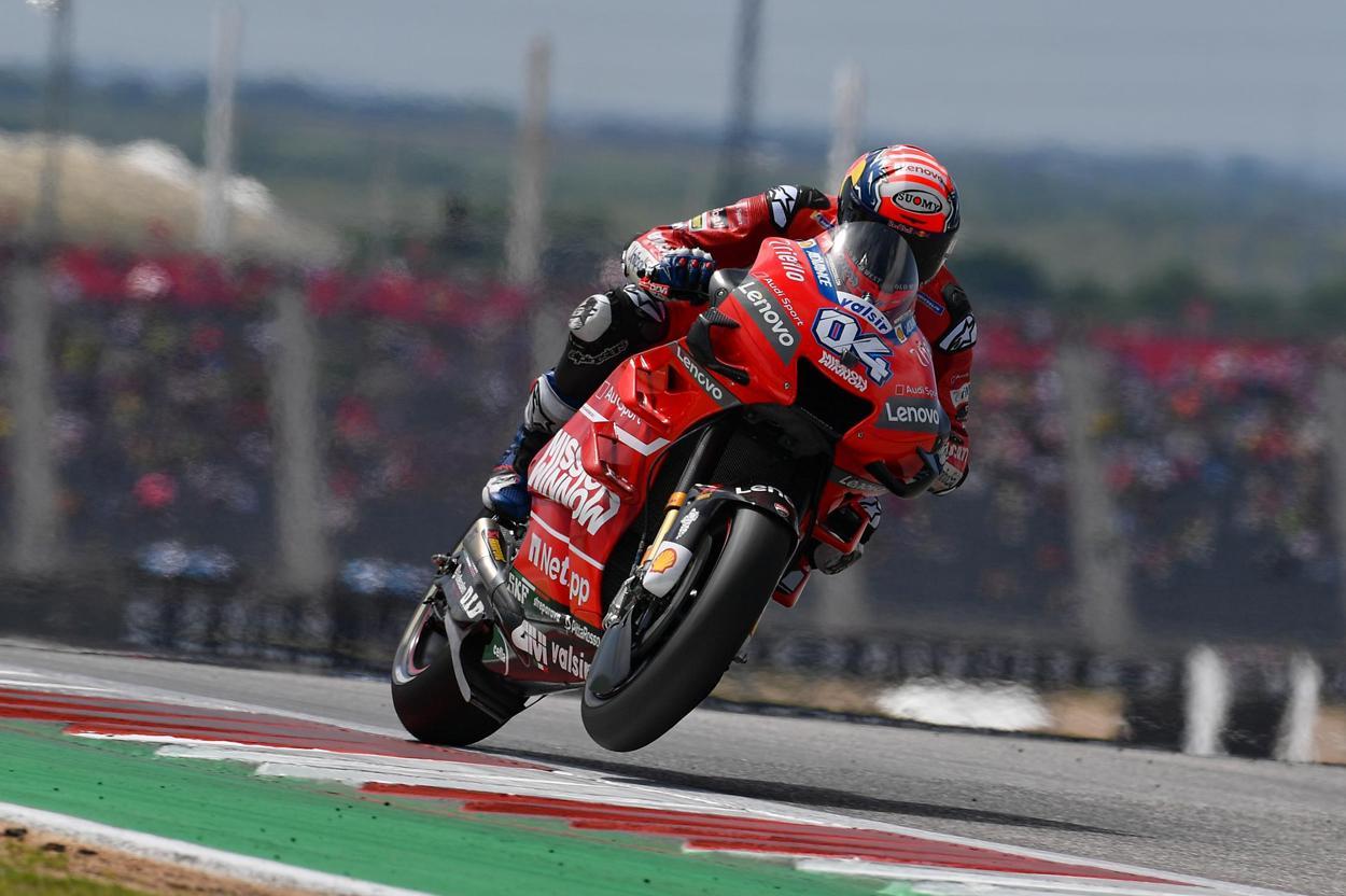 Victoria de Andrea Dovizioso en MotoGP en el GP de Austria
