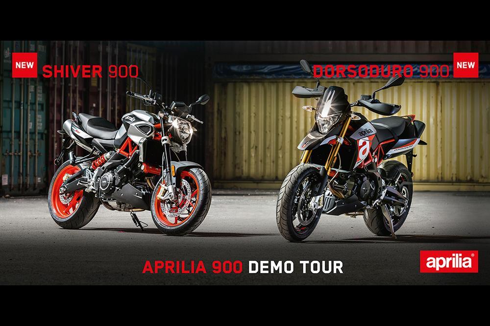 Aprilia 900 Demo Tour